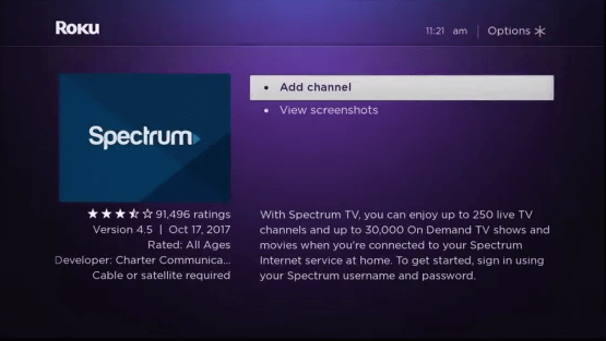 Add Channel