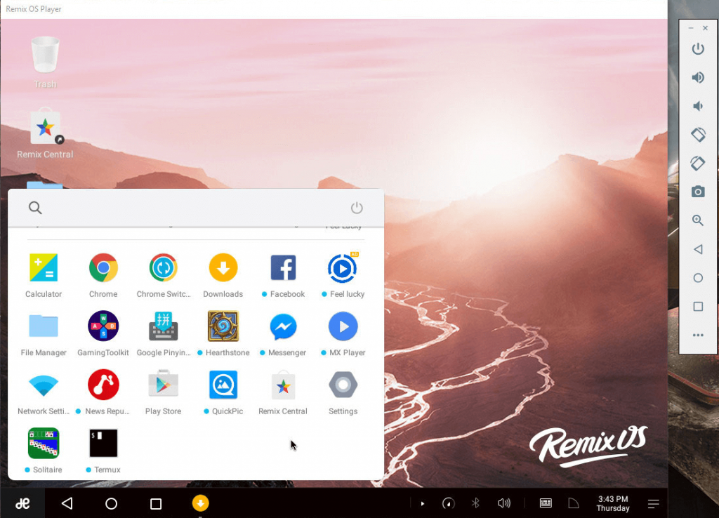 remix os - Best Android Emulators For Windows
