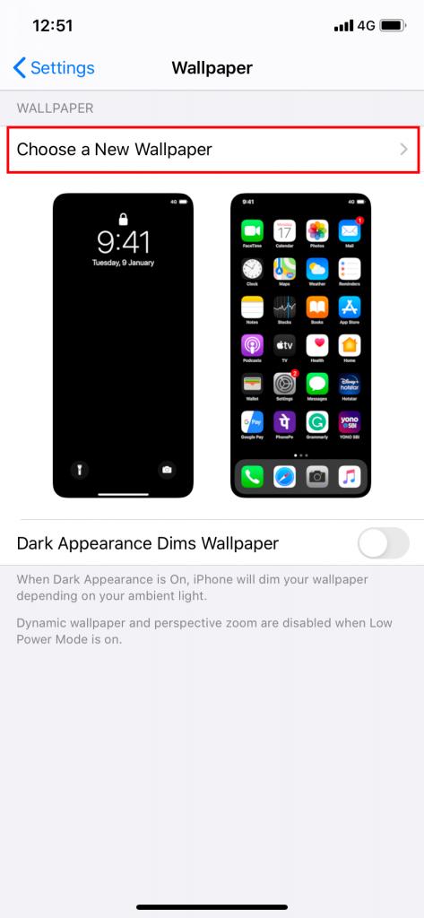 Change Clock on iPhone Lock Screen