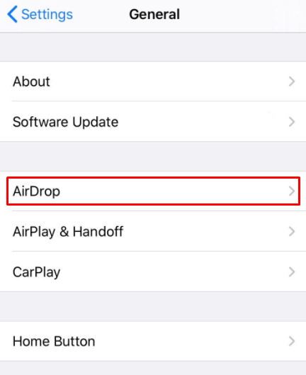 Airdrop - How to Change the Airdrop Name?