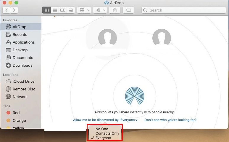 Everyone - How to Change the Airdrop Name?