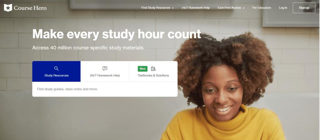 Course Hero - Best Textsheet Alternatives for Students