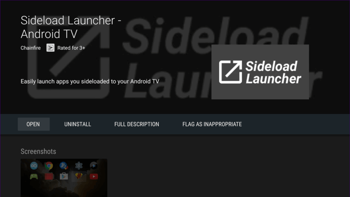 Get Sideload Launcher
