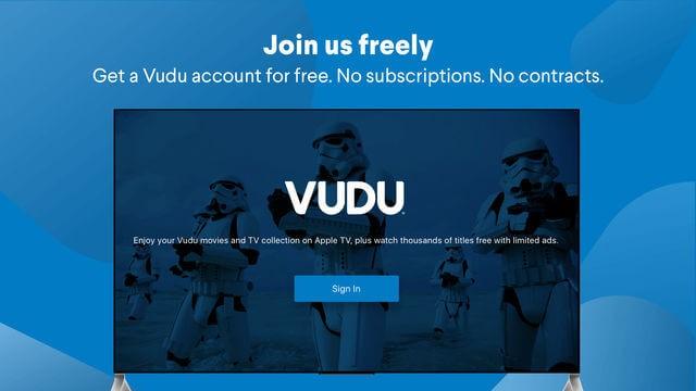 Get Vudu on Apple TV