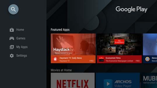Open Play Store to install Kodi on Mi Box