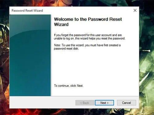 Reset Toshiba Laptop Password