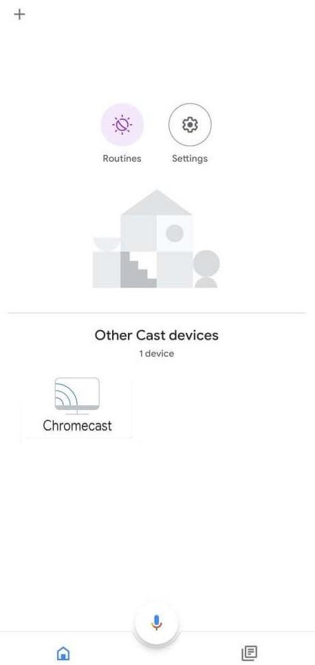 Select Chromecast Device to Restart