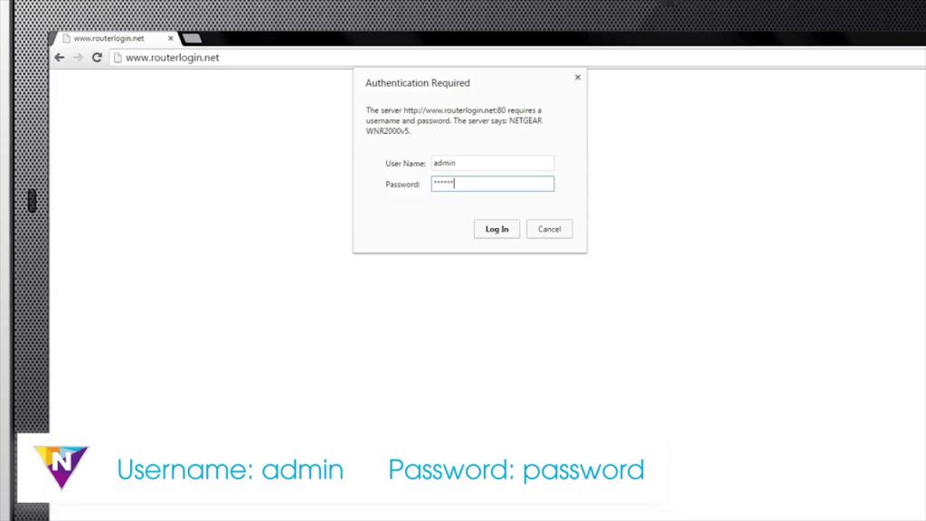Set a Router Password on NETGEAR