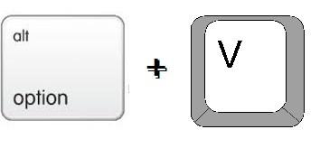 Square root using Mac Keyboard