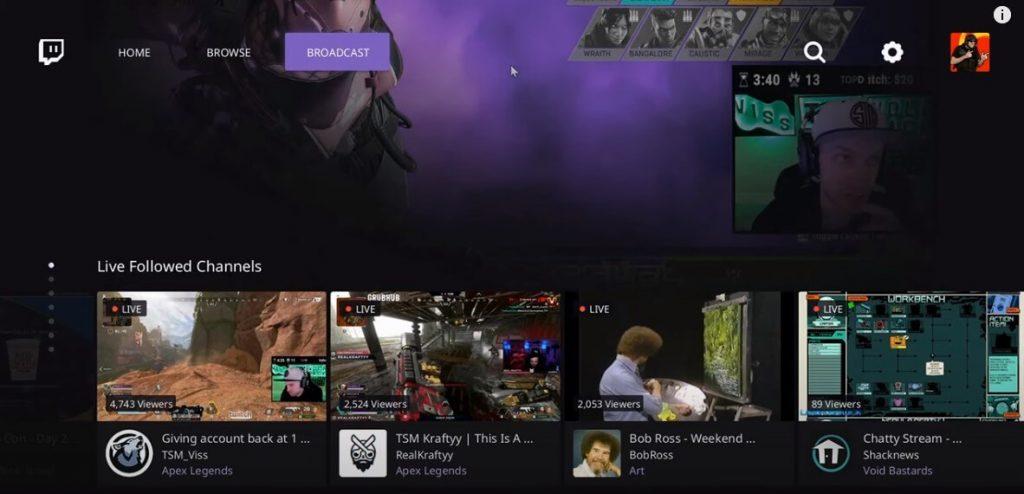 Twitch on Xbox