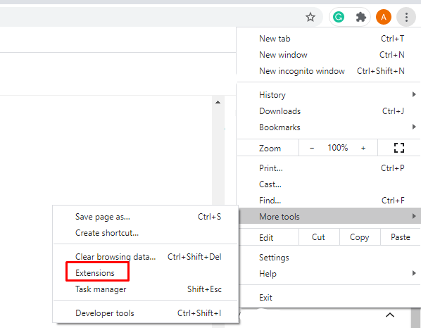 Extensions - How To Uninstall Chromium in PC?