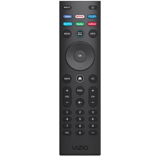 Press V button on Vizio TV Remote to Update Apps on Vizio Smart TV