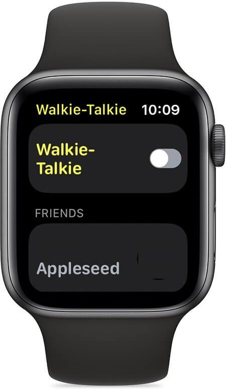 Walkie Talkie on Apple Watch