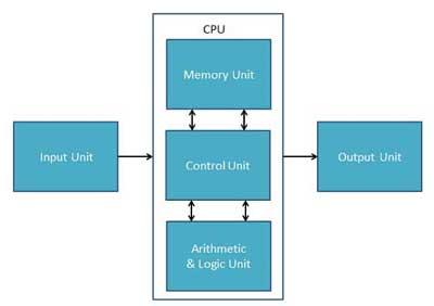 Function of Central Processing Unit
