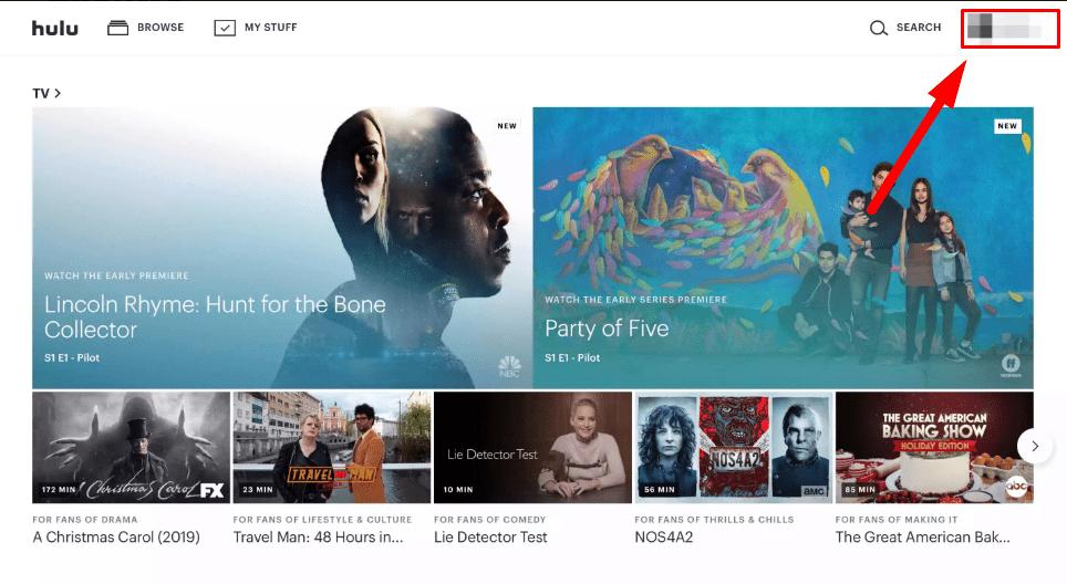 account - Cancel Hulu Subscription