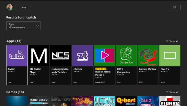 download twitch on xbox