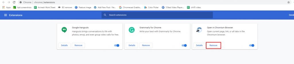 Remove - How To Uninstall Chromium in PC?