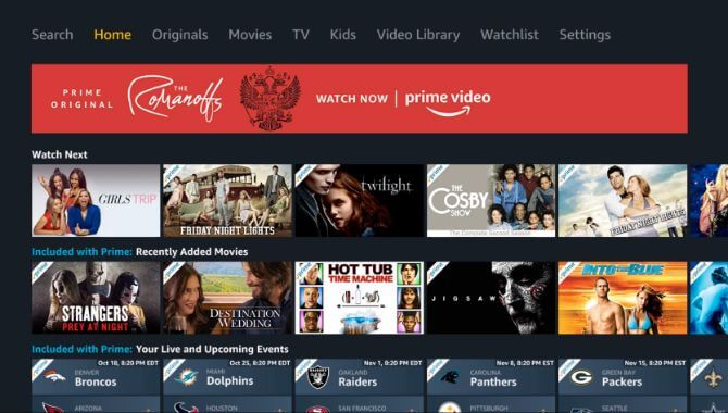 Watch Amazon Prime on Apple TV