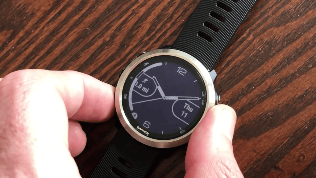 Change Garmin Watch Face
