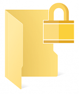 In-built File encryption