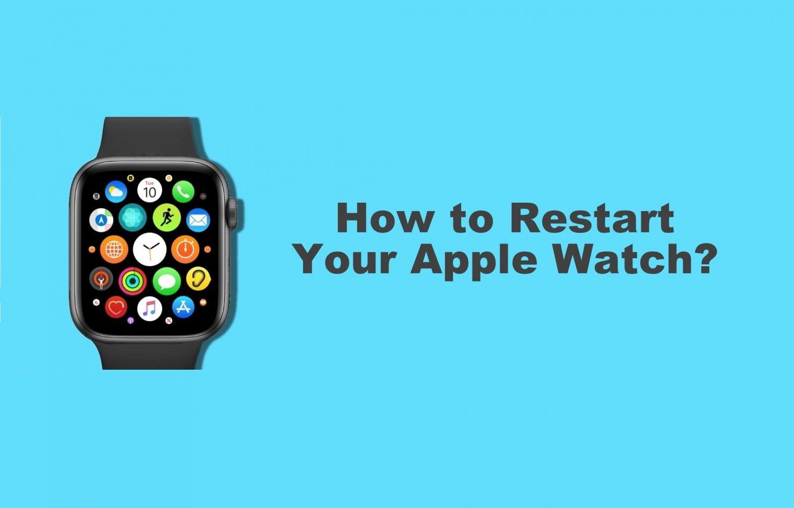 How to Reboot/Restart Your Apple Watch