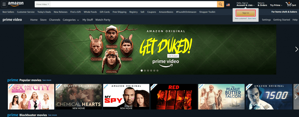 Sign in - Watch Prime Video on Xbox