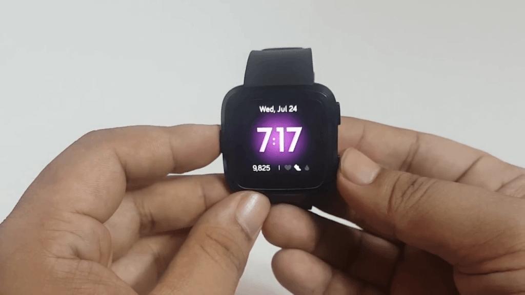 Restart Fitbit Versa