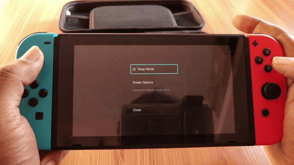 Restart Nintendo Switch