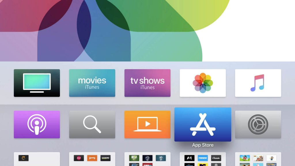 Select App Store icon to Watch Amazon Prime on Apple TV