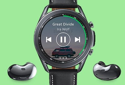 Spotify on samsung galaxy watch