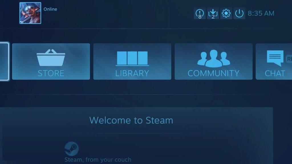 Launch steam
