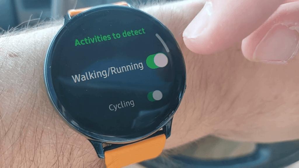 Turn off Auto Pause on Samsung Galaxy Watch