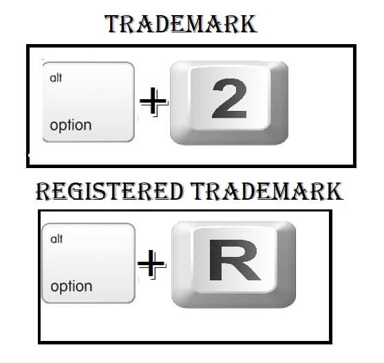 Type a Registered Trademark symbol using Mac Keyboard