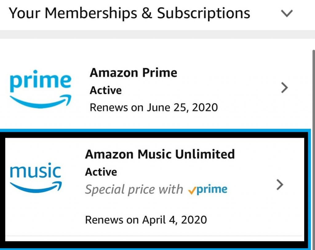 Membership and Subscriptions Amazon
