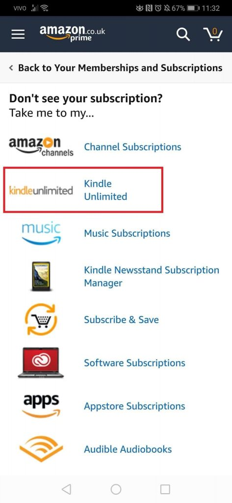 Kindle unlimited - How To Cancel kindle Unlimited
