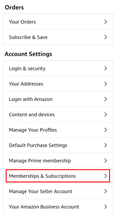 memberships and subscriptions