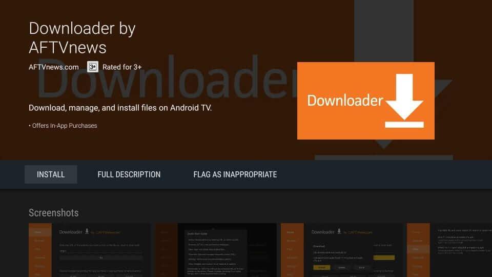 install downloader app on mi box