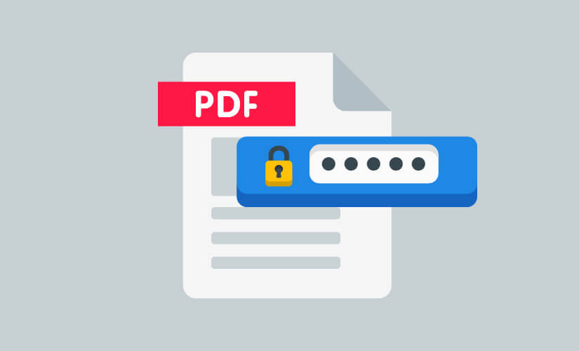 Password protect an Email attachment - PDF Documents