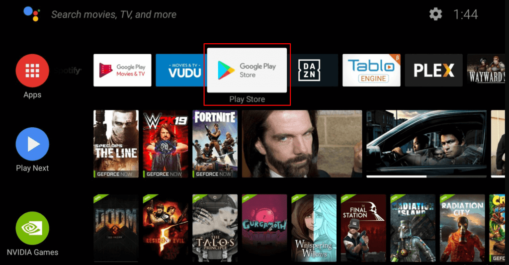 Google play store - How to Update Nvidia Shield?