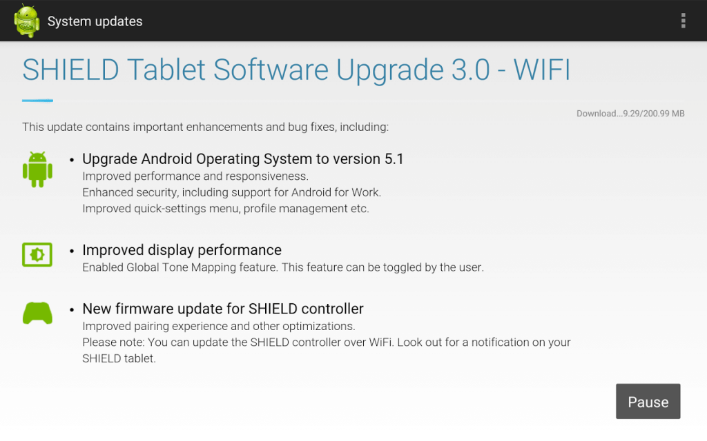 Download the update
