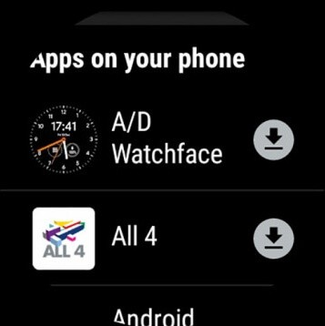 Apps on your phone