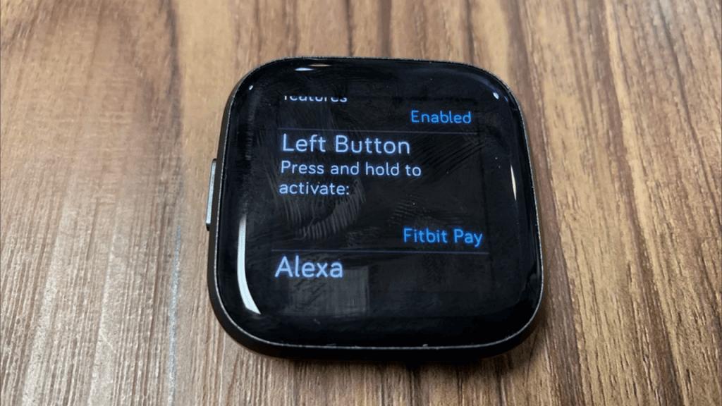 Left Button option