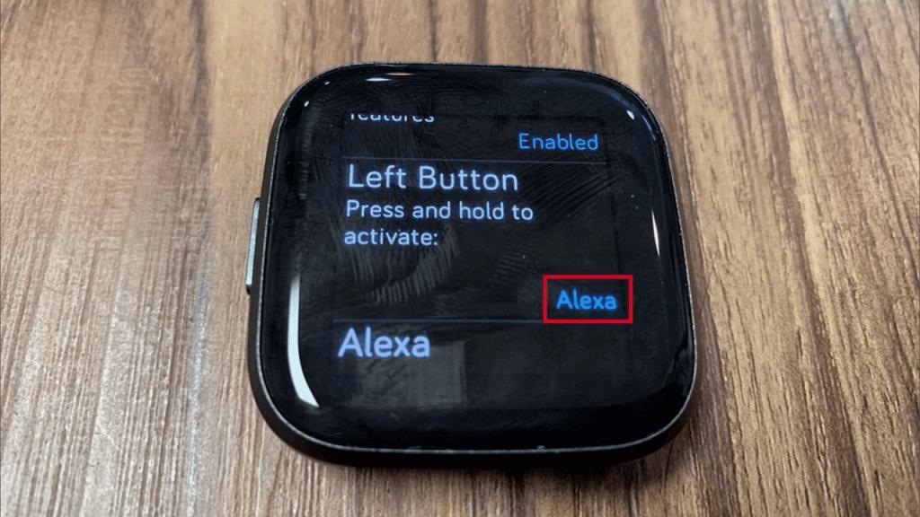 Alexa on Fitbit Versa