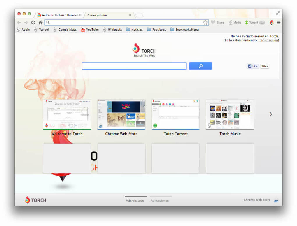 Best Web Browser for Mac - Torch