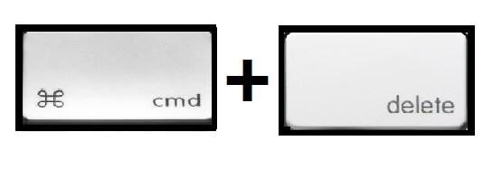 Delete folder on Mac using Shortcuts