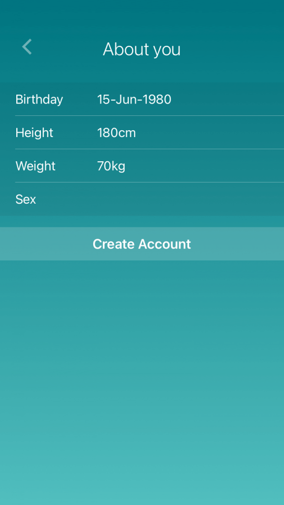 How to Connect Fitbit to the iPhone - Create account