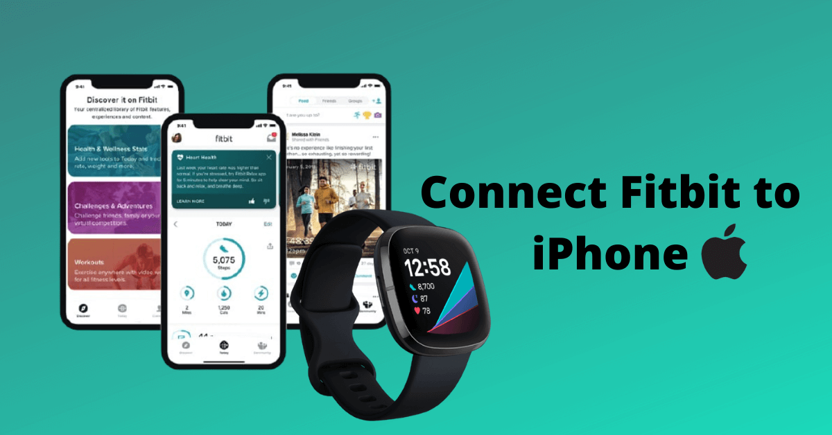 How to Pair or Connect Fitbit to iPhone [All Models]