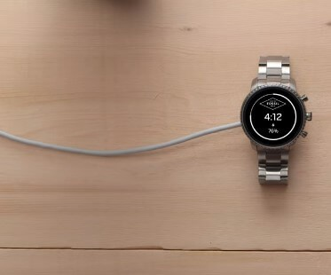 Connect to Charger - How to Set Up My Fossil Smartwatch