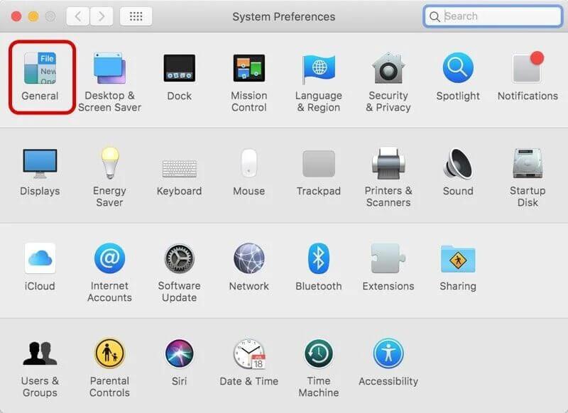 Dark Mode on Mac