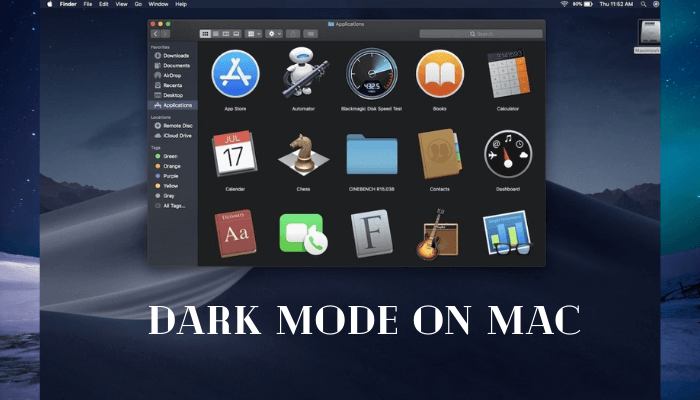 How to Enable Dark Mode on Mac in 2 Minutes [4 Ways]